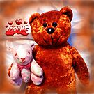 "The Teddy Bears ""Teddy Bear"" by WildestArt"