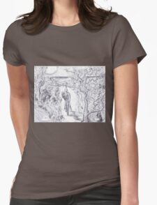Adventurer Womens Fitted T-Shirt
