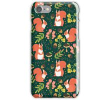 Cute squirrels iPhone Case/Skin