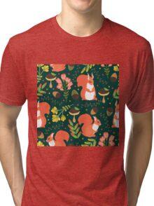Cute squirrels Tri-blend T-Shirt