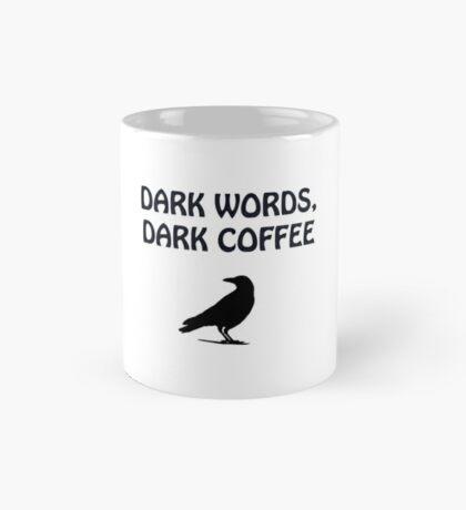 Dark Words Dark Coffee Mug