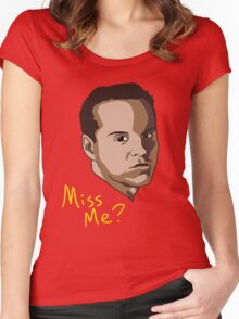 Miss Me? Women's Fitted Scoop T-Shirt