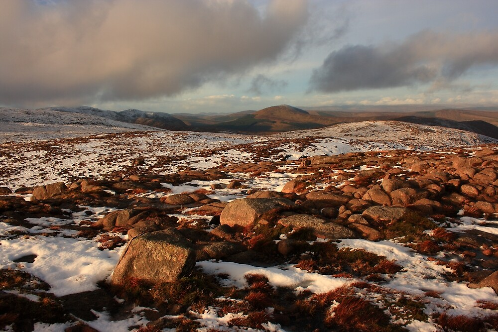 Looking North From Croaghnageer by Adrian McGlynn
