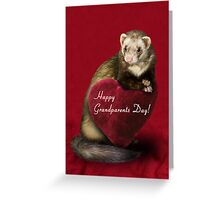 Grandparents Day Ferret Greeting Card