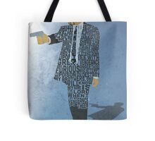 Jules from Pulp Fiction Typography Quote Design Tote Bag