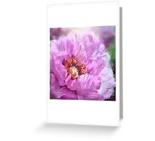 Radiant Orchid Peony Greeting Card