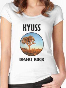 Kyuss - Desert Rock Women's Fitted Scoop T-Shirt
