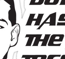 Don't Hassle the Toff Sticker
