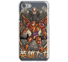 Big heroes Kanji iPhone Case/Skin
