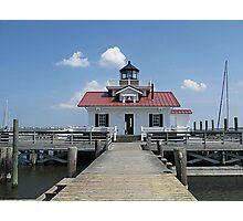 Roanoke Marshes Lighthouse Photographic Print
