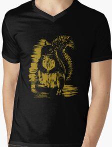 Gold Squirrel Mens V-Neck T-Shirt