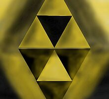 The Dark and Light Triforce by LinkXavier