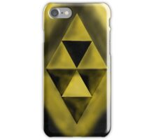 The Dark and Light Triforce iPhone Case/Skin