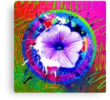 project Flower Canvas Print