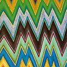 Chevron - heartbeat by Lisa Frances Judd~QuirkyHappyArt