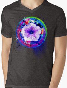 project Flower Mens V-Neck T-Shirt