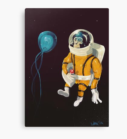 The history of scientific discoverys Canvas Print
