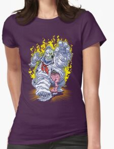 BURNING MAN Womens Fitted T-Shirt