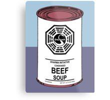 Dharma Beef Soup Metal Print