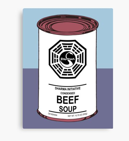 Dharma Beef Soup Canvas Print