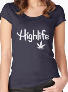 Highlife Shirt Women's Fitted Scoop T-Shirt