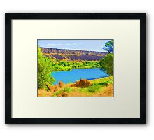 """Snake River"" by Carter L. Shepard Framed Print"