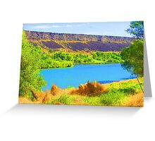 """Snake River"" by Carter L. Shepard Greeting Card"