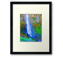 """Snake River Canyon Falls"" by Carter L. Shepard Framed Print"