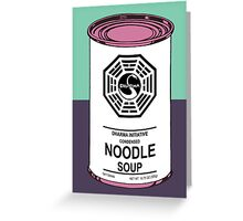 Dharma Noodle Soup Greeting Card