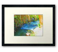 """Canyon Stream"" by Carter L. Shepard Framed Print"