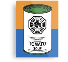 Dharma Tomato Soup Can Metal Print