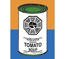 Dharma Tomato Soup Can Photographic Print