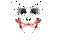 The Dark Knight: Joker Rorschach by John Glynn