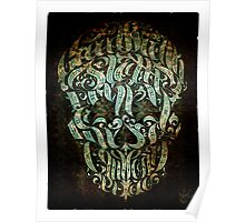 The 7 Sins Skull Poster