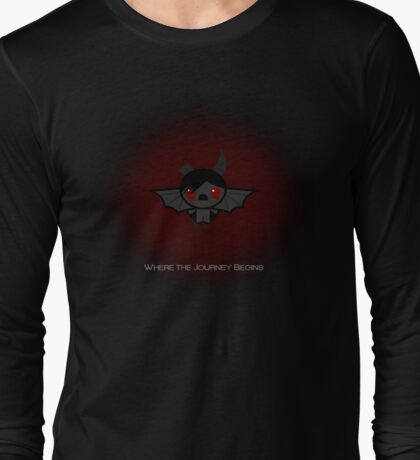 Azazel - The Binding of Isaac - Where The Journey Begins Long Sleeve T-Shirt