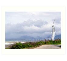 Bangui Windmills, Pagudpud, Ilocos Norte Art Print
