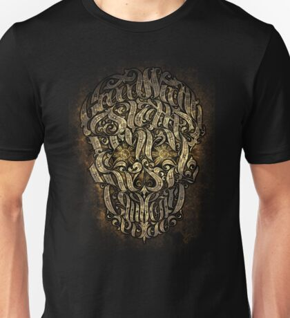 The 7 Sins Skull Unisex T-Shirt