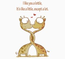 Lottle cute Giraffe Kids Clothes