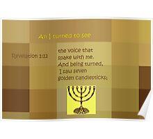 Seven Golden Candlesticks Poster