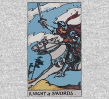 Tarot- Knight of Swords by cadellin