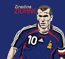 Zinedine Zidane by NickB17