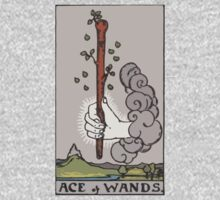 Tarot- Ace of Wands by cadellin