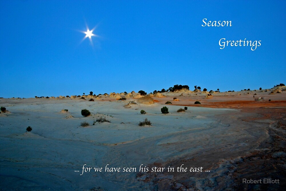 Season Greetings by Robert Elliott