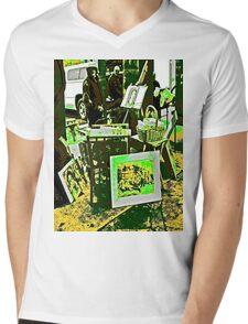 Art in The Park Mens V-Neck T-Shirt