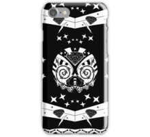 sketchy skull iPhone Case/Skin