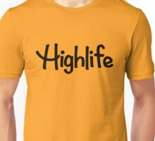 Highlife Shirt (Dark) (Leafless Version) Unisex T-Shirt
