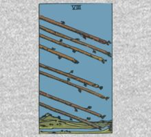 Tarot- Eight of Wands by cadellin