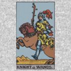 Tarot- Knight of Wands by cadellin