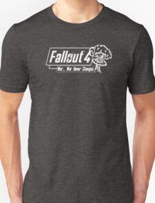 Fallout 4 War Never Changes. [White] T-Shirt