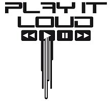 Play It Loud Music Logo by Style-O-Mat